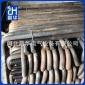 厂价生产预埋7字地脚螺栓本色碳钢Q235M24*800mm可定做定位法兰盘